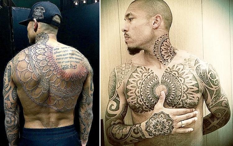 Татуировки футбольного клуба манчестер сити временые фото